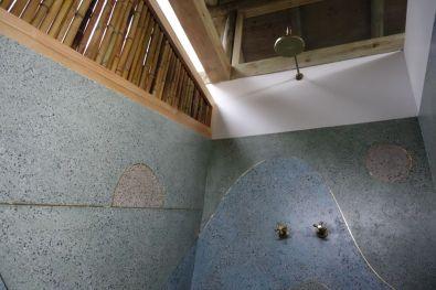 El Romerón-Mansarda ducha