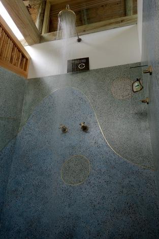 mansarda ducha